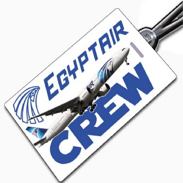 Egypt Air 777 Crew Tag